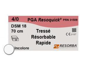 Label Resoquick 4-0 PRN31509