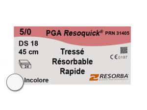 Label Resoquick 5-0 PRN31405